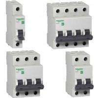 Автоматический выключатель EASY 9 1П 16А В 4,5кА 230В =S=