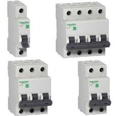 Автоматический выключатель EASY 9 1П 10А В 4,5кА 230В =S=