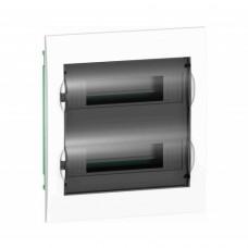 Easy9 корпус встроенный с прозрачной дверью 2 ряда/24 модуля