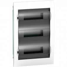 Easy9 корпус встроенный с прозрачной дверью 3 ряда/36 модулей