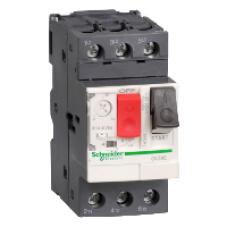 GV2 Автоматический выключатель с комбинированным расцеплением 0,1-0,16А