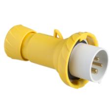 PratiKa wander plug - straight - 32 A - 2P + E - 100...130 V AC - IP67