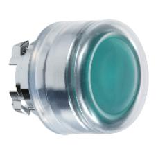 Головка зеленой кнопки 22 мм с подсветкой