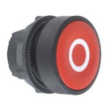 Головка красная для кнопки 22 мм с маркировкой O